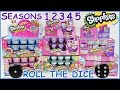 SHOPKINS Dice Game Round 2 | Opening Surprise Packs