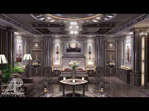 High-End Interior Design - Art Deco Master Bedroom
