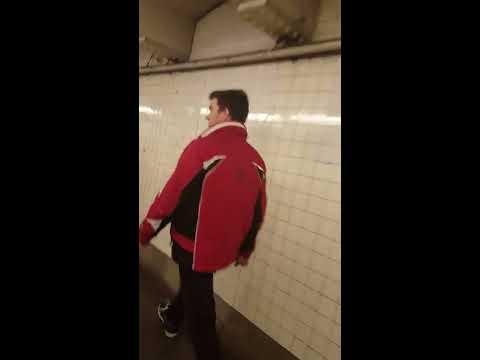 NYC Subway Trump Walk w/ Gavin McInnes : 11/28/16