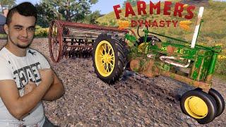 Farmer's Dynasty #10 Zbieranie pomidorów, nowe zwierzęta i zabytkowy siewnik! MafiaSolecTeam