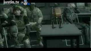 Somebody say something positive! (MGS4 funny)