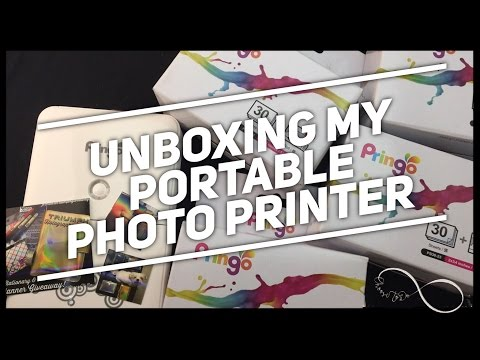 Pringo | Portable Printer Unboxing