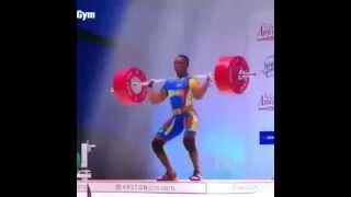 Космический онанизм ))) тяжелая атлетика / weightlifting