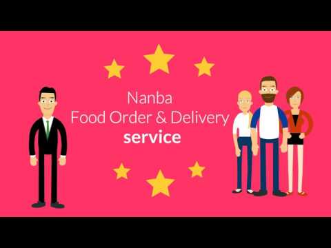 Nanba online food order and delivery promo video