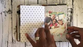 bullet journal in an a6 traveler s notebook   hope dream journal