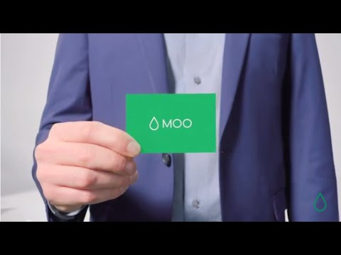 stand out with moo beautifully designed business cards youtube