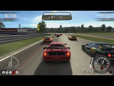Test Drive Ferrari Racing Legends - F355 Battle At Fiorano Test Track + Full Car And Track List