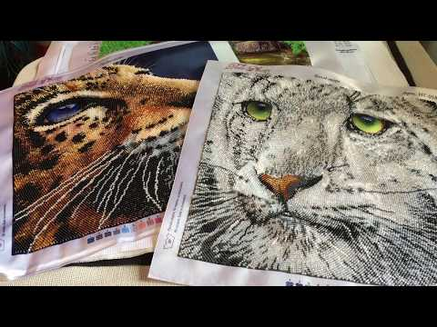 Вышивка бисером картин разными швами (фото и видео)