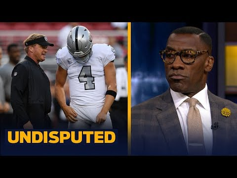 Skip and Shannon recap the Raiders' TNF blowout loss against the 49ers | NFL | UNDISPUTED