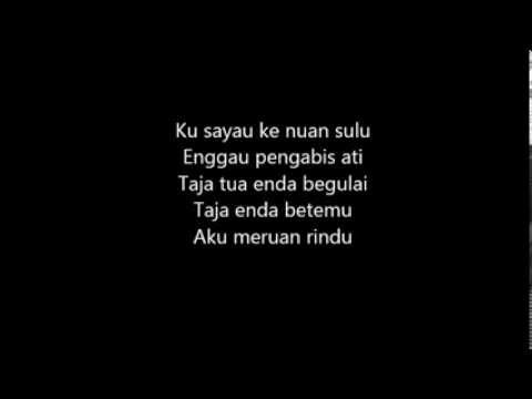 Rickie Andrewson-Beri Pemutus Ati Nuan (Lirik)