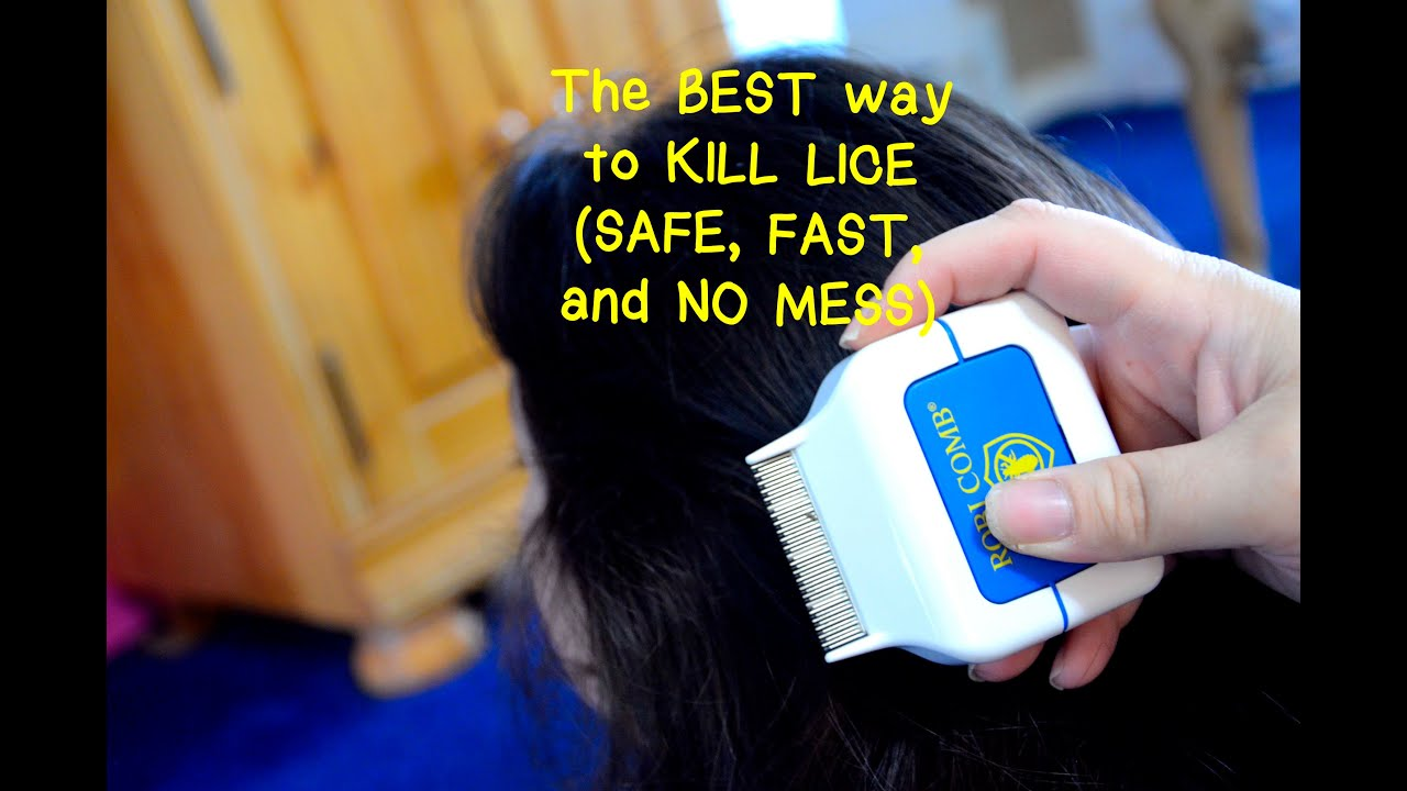 The best way to kill lice safe fast and no mess youtube ccuart Choice Image