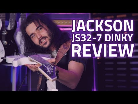 Jackson JS32-7 Dinky Demo & Review - 7 String RIFFS!