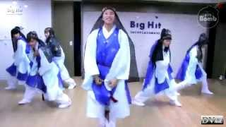 Bangatan Boys (BTS) - Danger (dance practice 2) DVhd