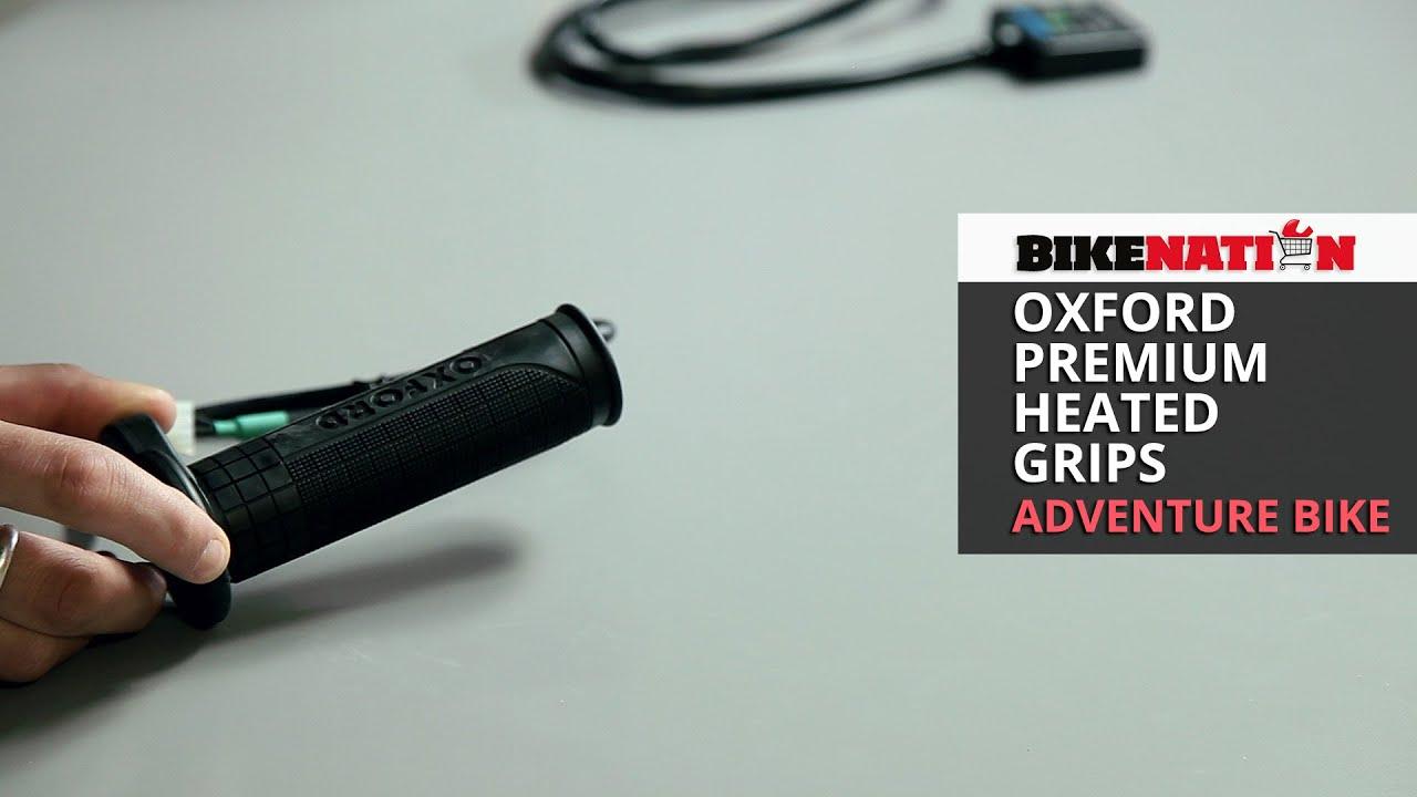 Heated motorcycle gloves vs heated grips - Oxford Premium Heated Grips Adventure Bike