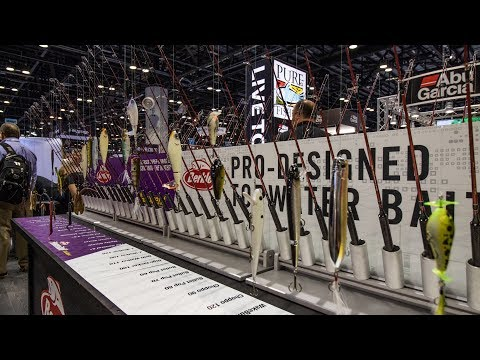 2018 ICAST - Berkley - New Soft Baits And Hard Baits