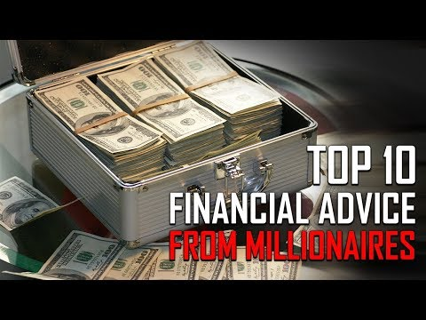 Top 10 Financial Advices from Millionaires