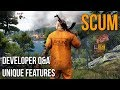 SCUM NEW Survival Game Developer Q A Unique Features Explained mp3