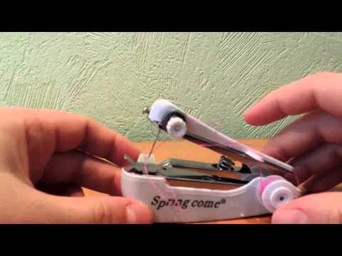Посылка из Китая #9. Ручная швейная машинка, AliExpress