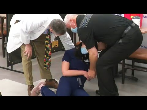Fainting Nurse Latched Onto by Conspiracy Theorists Is Alive