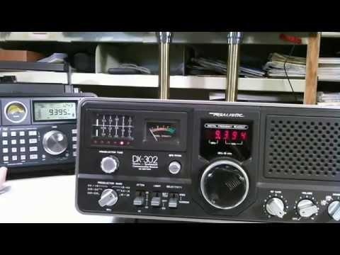 Realistic Dx 302 Shortwave Receiver Ham Radio Receiver