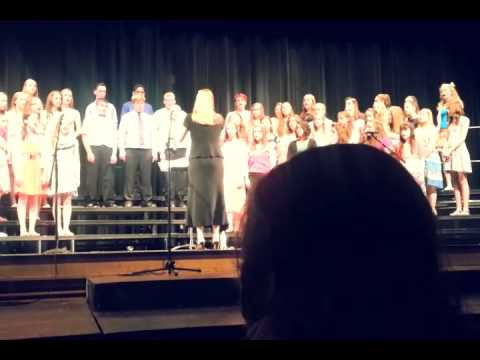 Wayne Highlands middle school chorus