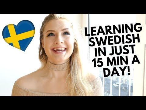 HOW IM LEARNING SWEDISH IN JUST 15 MINUTES A DAY