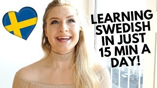 HOW I'M LEARNING SWEDISH IN JUST 15 MINUTES A DAY