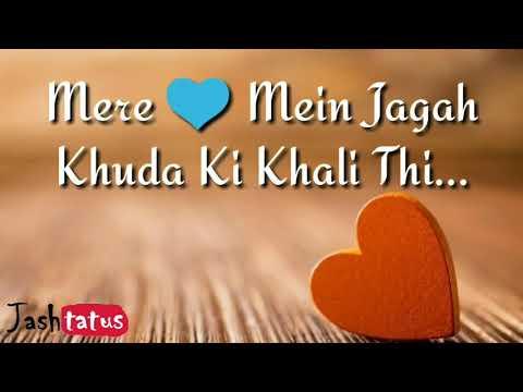 Mere Dil Mein Jagah Khuda Ki | Brothers | Sonu Nigam | Sapna Jahan WhatsApp Status | Jashtatus