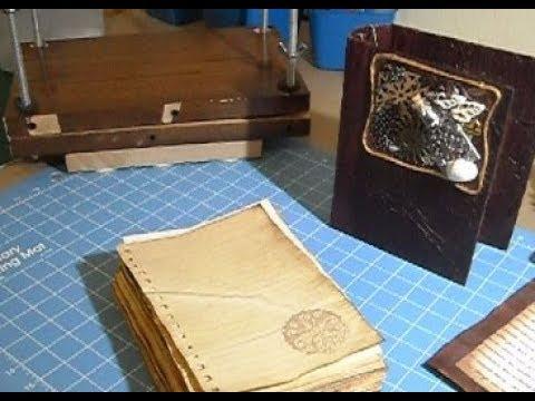 Part 1:  Double Fan Binding & DIY Bookpress
