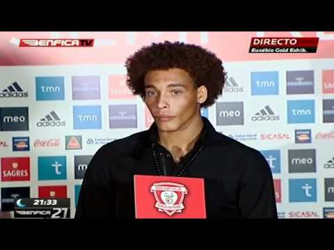 Axel Witsel Official Presentation • SL Benfica •