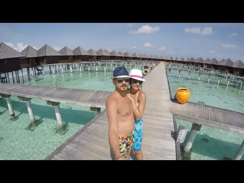 OLHUVELİ BEACH & SPA RESORT MALDİVES 2016 (GoPro HERO 4 SİLVER)