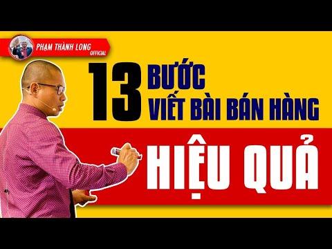 Kinh Doanh Online ?13 bước viết bài bán hàng trên Facebook hiệu quả   Phạm Thành Long