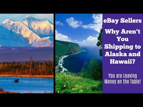 eBay Shipping to Hawaii and Alaska:  Don