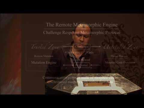 DEF CON 24 - Amro Abdelgawad - The Remote Metamorphic Engine