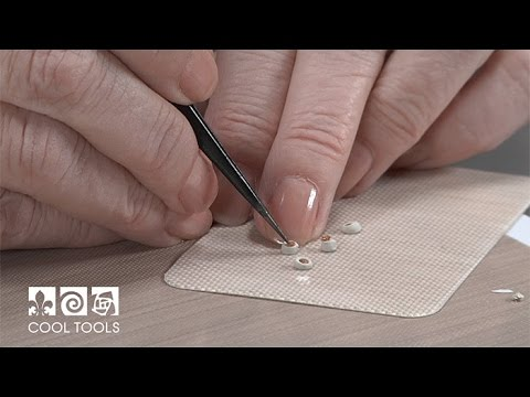 Cool Tools: Setting Small Gemstones in Silver Metal Clay