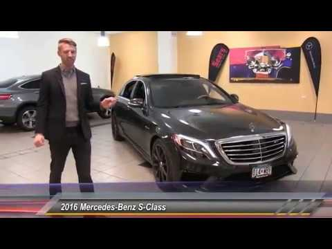 Used 2016 mercedes benz s class amg s63 minnetonka for Mercedes benz bloomington mn