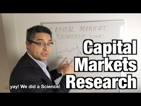 Capital Markets Research ... quickly!