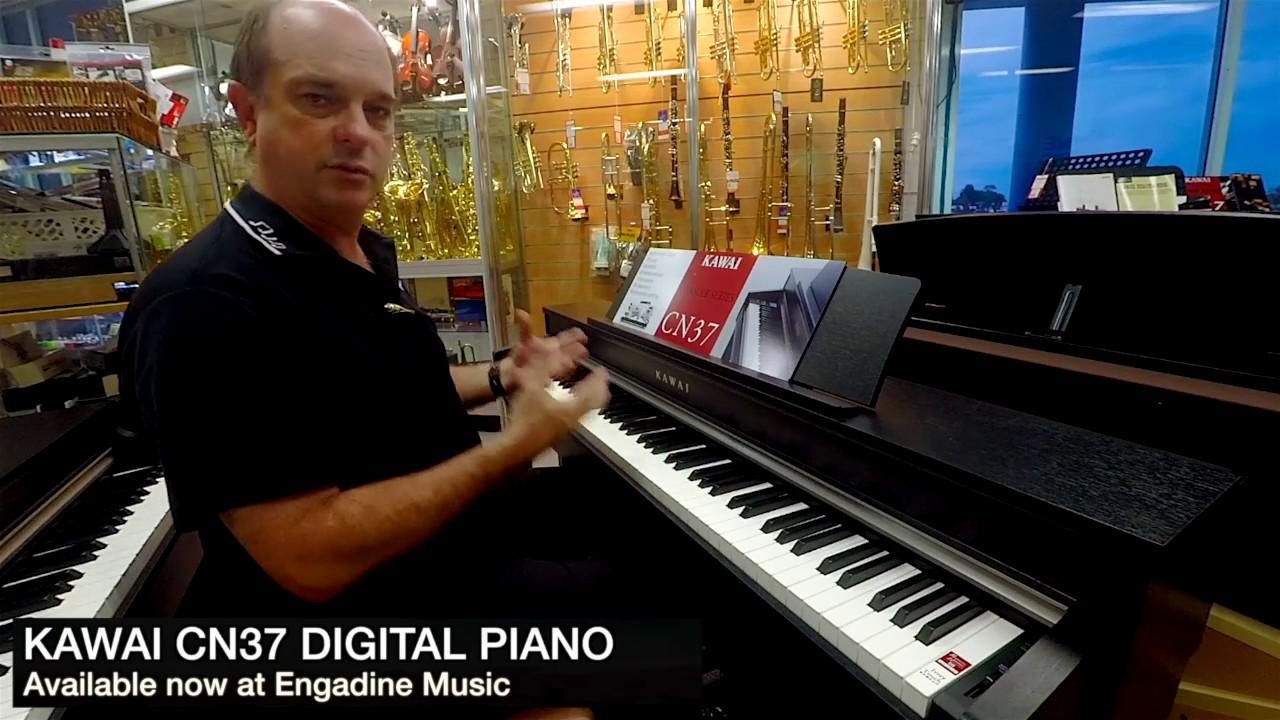 kawai cn37 digital piano review engadine music youtube. Black Bedroom Furniture Sets. Home Design Ideas