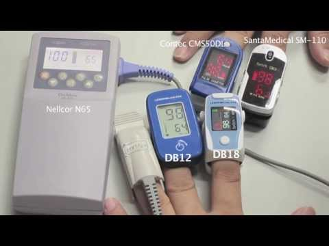 O2Health DB11 and DB12 Accuracy Compared Against Contec