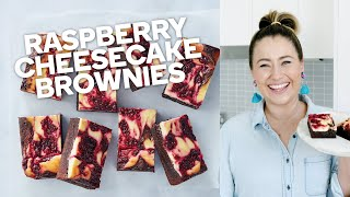 Raspberry cheesecake brownies - Make yourself at home with Woolworths