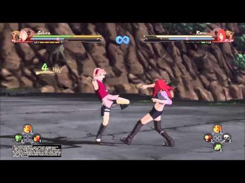NARUTO SHIPPUDEN™  Ultimate Ninja® STORM 4 sakura vs karin
