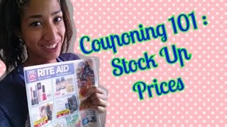 HOW TO Find Couponing Stock Up Prices (Rite Aid Oct 12-18, 2014)(Want to learn how to determine stock up prices? In this Couponing How To Video I show you how to find and determine stock up prices on hot items such as ..., 2014-10-15T04:42:04.000Z)