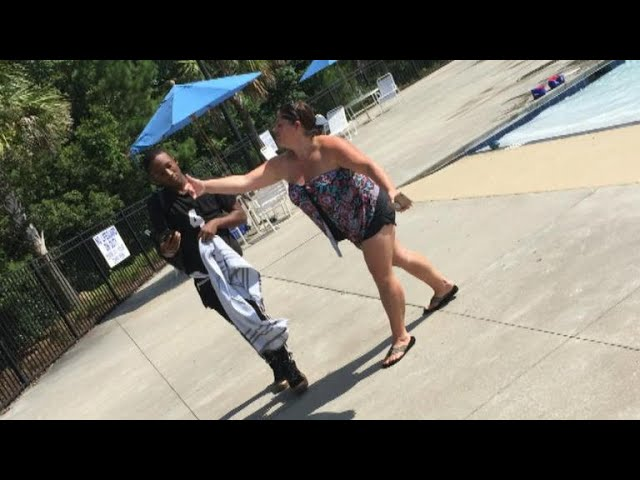 Black teen speaks out after woman charged with attacking him at pool