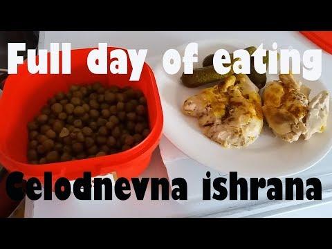 Full day of eating - Celodnevna ishrana 17.03.2018.