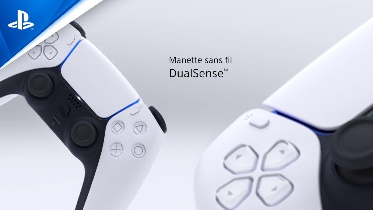Manette sans fil DualSense | Nouvelle manette PS5