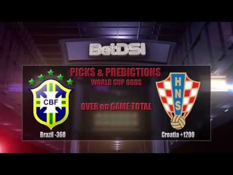 2014 World Cup Odds and Betting Predictions | Brazil vs Croatia