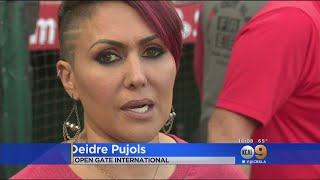 Wife Of Angels Star Pujols Aims To 'Strike Out Slavery'