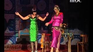 الراقصة لــوسي تعلم الراقصة غادة عبد الرازق