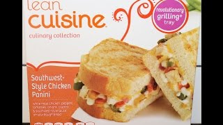Lean Cuisine: Southwest-Style Chicken Panini Review