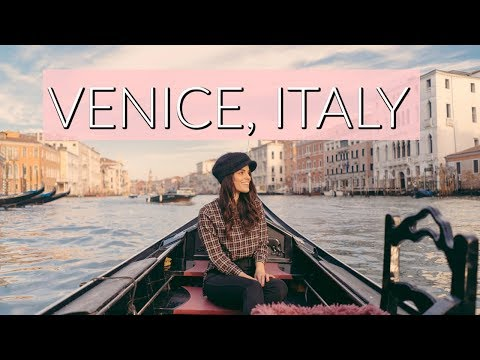 Visiting Venice Italy - Romantic Venice Canals - Things To Do In Italy - 동영상